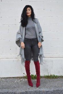 Какая обувь подойдет к серым джинсам