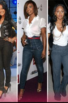Как и с чем носить джинсы-американки