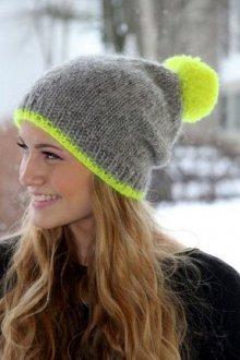 Молодежная шапка-носок