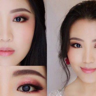 Мейкап для карих глаз азиатского типа