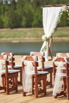 Рустикальный вид свадьбы