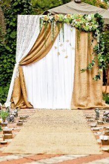 Особенности свадьбы в стиле рустик