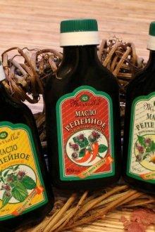 Особенности репейного масла