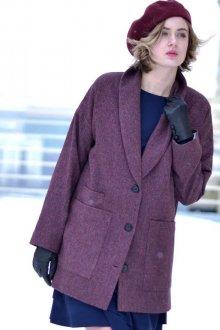 Как и с чем носить женское пальто-пиджак