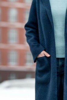 Особенности пальто из вареной шерсти