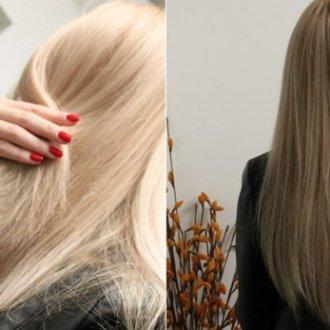 Особенность тонировки от желтизны волос