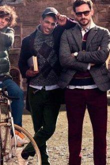 Как одевались парни, чтобы выглядеть модно