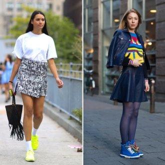 Советы стилистов по выбору спортивной юбки