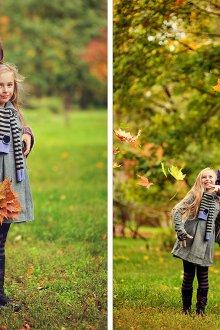 Фотосессия девочек на природе
