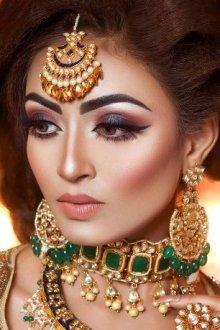Особенности макияжа в индийском стиле