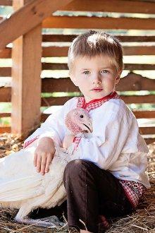 Фотосессия мальчика на природе