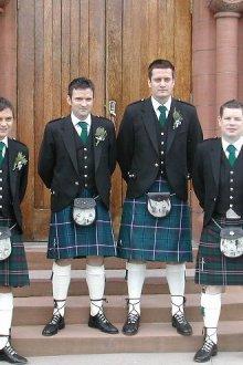 Шотландский мужской костюм