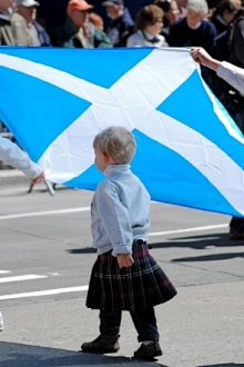 Шотландский детский костюм
