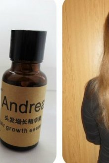 Особенности средства для роста волос Аndrea
