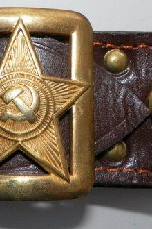 Армейские ремни времен СССР