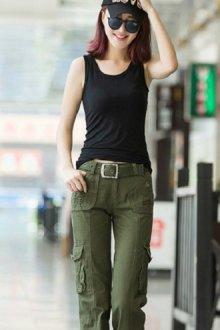 Женские брюки карго – трендовая модель гардероба