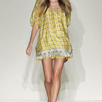 Короткое платье балахон