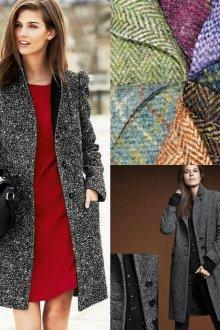 Виды и фасоны пальто бойфренд