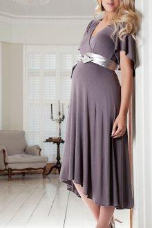Популярные фасоны вечерних платьев для беременных и актуальные модели