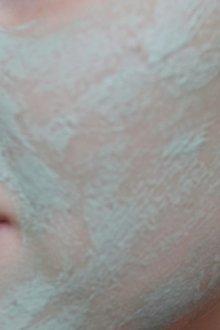 Глицериновая маска для выравнивания кожи на лице
