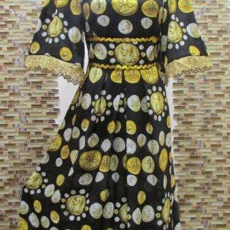 Платье – монетное полотно