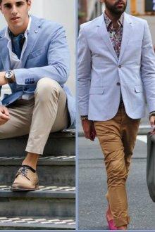 Основные правила сочетания цветов в одежде мужчин