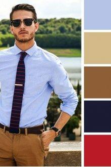 Образ делового мужчины и выбор цветов одежды