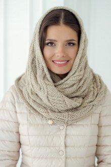 Шапка-шарф «труба»