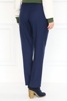Классические прямые зауженные брюки