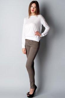 Узкие серые  брюки