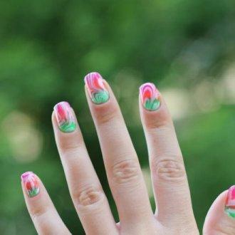 Aquarelle tints for nail