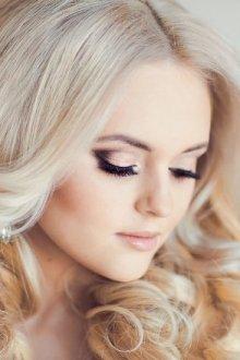 Свадебный макияж для карих глаз