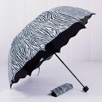 Женский зонт с принтом зебра
