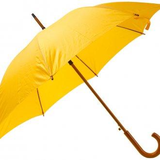 Стильный женский желтый зонт