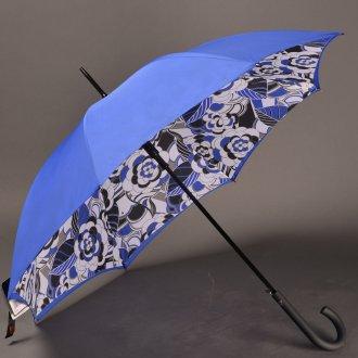 Стильный женский зонт с рисунком внутри