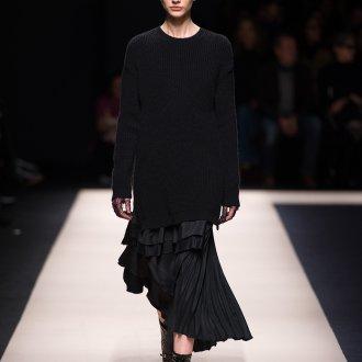 Готическое платье с кофтой