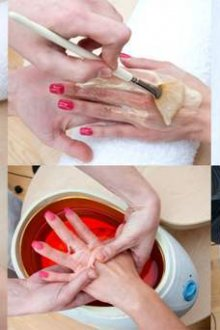Как выполнить горячий маникюр