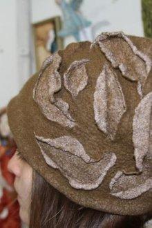 Шапка «роза»