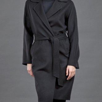 Женское пальто с запахом