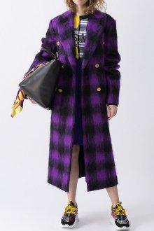 Фиолетовое пальто
