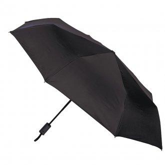 Полуавтомат черный мужской зонт