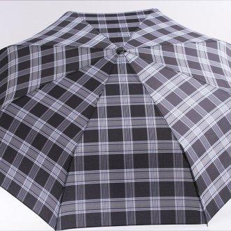 Модный клетчатый мужской зонт