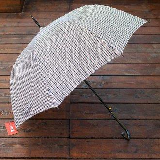 Модный мужской зонт в полоску
