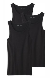 Удлиненные футболки-майки без рукавов