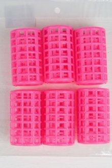 Керамические бигуди с велюровыми роликами