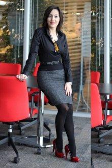 Можно ли носить черные колготки в деловом стиле