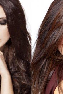 Особенности шоколадного цвета волос