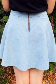 Особенности юбки-полусолнце