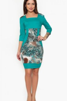 Комбинированные платья: стильные образы