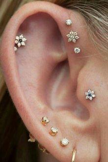 Украшения для прокола ушей